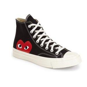 Comme Des Garçons x Converse High Top Sneakers